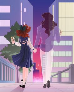 Naru (Molly) and Nephrite from Sailor Moon Sailor Moom, Arte Sailor Moon, Sailor Moon Fan Art, Sailor Moon Character, Sailor Moon Manga, Sailor Jupiter, Sailor Moon Crystal, Digimon, Sailor Moon Quotes