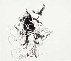 Death Dealer by Frank Frazetta.