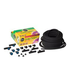 Look at this Miracle Gro Soaker System Kit with 100' Soaker Hose on #zulily today!