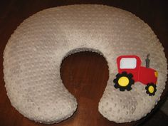 Boppy Cover, Tractor, Bobby Pillow Cover, Boppy Pillow Cover, Red, Blue, Green, Baby Boy, Baby Girl, Minky Boppy Cover, Custom Baby Bedding