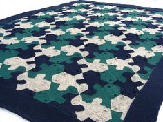 Tessellations (Mathematical Knitting) justblock(gg)ed: variations or why i love ravelry