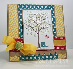 Happy Spring SCS378 by TreasureOiler - Cards and Paper Crafts at Splitcoaststampers