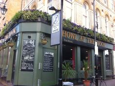 Hoxton London......love the pub name!!