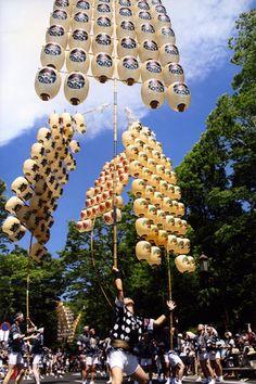 AKITA KANTO Festival in Akita, Japan