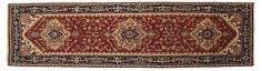 """2'7""""x10'1"""" Haifa Runner, Red 
