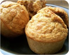 muffins sans MG sans sucre calorie diet week diet diet … Breakfast Muffins, Breakfast Recipes, Baby Food Recipes, Dessert Recipes, Pie Co, Delicious Desserts, Yummy Food, Bread Cake, Batch Cooking