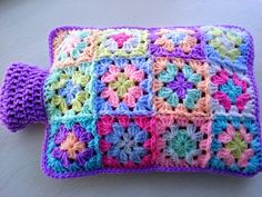 Hot Water Bottle Cover/Cozy by Aalexi on Etsy