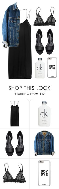 """""""Minimal Sunday"""" by yalo4468 ❤ liked on Polyvore featuring Dion Lee, Calvin Klein, H&M and Eberjey"""