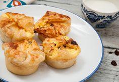 Túrós batyu muffinsütőben készítve Atkins, Baked Potato, Hot Dogs, Cantaloupe, Tapas, Cauliflower, Shrimp, Muffin, Paleo