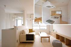 Rebirth project of the Mochizukashi bridge housing   Housing column   Shapes of living considering everyone   MUJI HOUSE VISION