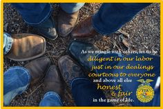 Bandys FFA (NC) Yearbook Ad- 2015. [Features officer team [boots] and new emblem.