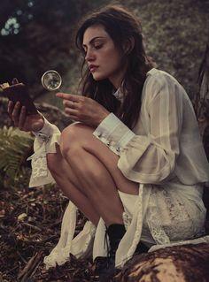 "Vogue Australia March 2015 ""Lost In Time"" photography Will Davidson models Teresa Palmer & Phoebe Tonkin fashion editor Petta Chua hair Sophie Roberts makeup Kellie Stratton"