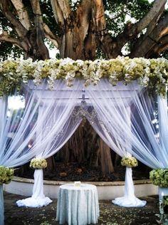 Beautiful ceremony decor