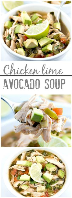 Detoxing!--Chicken Lime Avocado Soup is the perfect way to warm up for the winter. It is quick and easy to prepare and smells amazing while it's cooking.