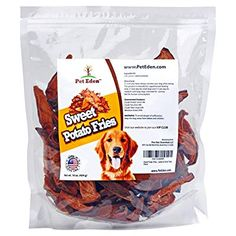 Sweet Potato Dog Treats Made in USA Only by Pet Eden Best Grain Free Natural Healthy Chews for Dogs 1 lb Free of Fillers No Additives No Preservatives Premium Quality Gourmet Snacks for All Dogs Best Natural Dog Food, Sweet Potato Dog Treats, Grain Free Dog Food, Dog Diet, Dog Snacks, Perfect Food, Food Allergies, Organic Recipes
