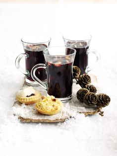 Spoil your party guests with this potent winter brew made from red wine, port and vodka.