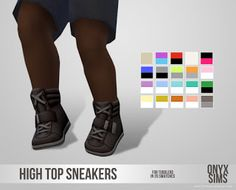OnyxSims4puHighTopSneakers
