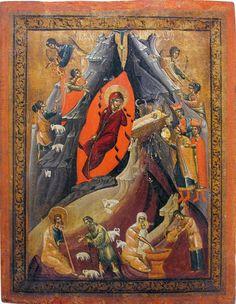 """""""Різдво Христове"""" середина 16 ст Вільче НМЛ"""