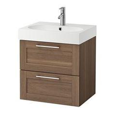 meuble SdB du bas IKEA - GODMORGON / BRÅVIKEN, Meuble lavabo 2tir, effet chêne blanchi, , Garantie 10 ans gratuite. Détails des conditions disponibles en magasin ou sur internet.Tiroirs faciles à ouvrir, avec fermeture en douceur et butée d'arrêt.Vous pouvez facilement modifier la taille du casier en déplaçant le séparateur.Les tiroirs s'ouvrent entièrement pour une bonne visibilité et un