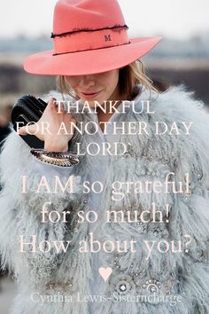 RECIPE FOR A BLESSED DAY♥  We do not have it all ( In a sense), but we got life. We can see, and know that we have eyes to read and ears to hear encouraging words. All of us need a Dr. Cheer Up! Sometimes you just have to say out loud; LORD I AM THANKFUL for what I do have, for what I GOT!!!