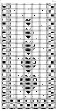 Crochet / table runner / grandma blanket German, English and Italian - woolly .Crochet / table runner / grandma blanket German, English and Italian - woolly things! Crochet Bookmark Pattern, Crochet Bookmarks, Afghan Crochet Patterns, Crochet Stitches, Crochet Throw Pattern, Crochet Squares, Applique Patterns, Filet Crochet Charts, Crochet Diagram