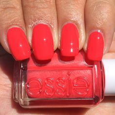 Sunset Sneaks from essie's Summer 2015 Peach Side Babe Collection