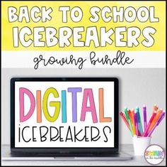 Get to know your students at the beginning of the year with these engaging Back to School Icebreakers! These back to school activities can all be used for traditional learning or distance learning! This is a GROWING resource.
