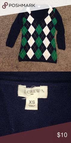 J Crew navy blue sweater Never worn. Quarter sleeve. Great condition J. Crew Sweaters Cardigans