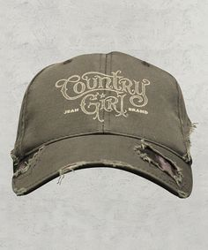 Loving this Country Girl Olive   Mossy Oak  Country Girl  Baseball Cap on 57b4fbd1cb37