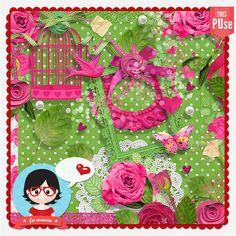 Kit - Rosas by Fa Maura [FaMaura_KitRosas] - R$16.18 : famaura.com - scrapshop