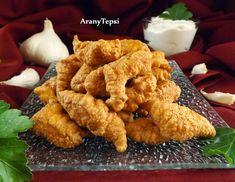Ez a gyerekeim egyik kedvenc étele, bármikor szívesen fogadják, ez olyan mindenkor bevethető fogás :-) Ízletes csirkedarabok, amik a bundáb...