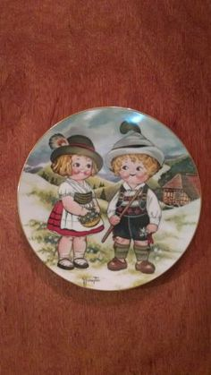 Dolly Dingle Visit Germany World Traveler collection plate series 1