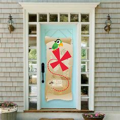Pirate Party Front Door Banner (printed), $14 {Lia Griffith}
