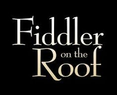 fiddler on the roof logo - Google Search