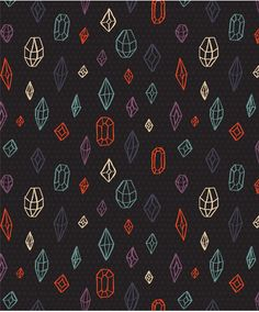 cute diamonds pattern