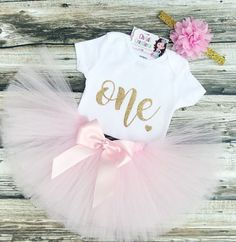 Baby Girl Pink Birthday Outfit - Birthday Girl Outfit - Pink and Gold Birthday Tutu - First Birthday Outfit Girl - Tutu Dress Gold First Birthday Outfit, Gold Birthday Cake, Baby Girl 1st Birthday, Birthday Tutu, Birthday Dresses, Birthday Ideas, Birthday Parties, Gold Tutu, Cake Smash Outfit