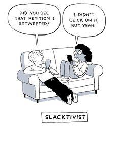 Beyond Slacktivism - by John Martz