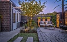 Stadstuin, Knops Tuindesign, the art of living Outdoor Living Rooms, Outside Living, Garden Design Plans, Small Garden Design, Modern Landscaping, Outdoor Landscaping, Back Gardens, Outdoor Gardens, Meditation Garden