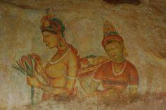 Fresques de Sigirya, Sri Lanka