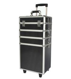 FoxHunter-Makeup-Beauty-Cosmetic-Hairdressing-Nail-Alu-4-In-1-Case-Box-Trolley