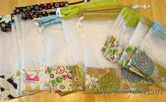 Pet Postcards - 2014 Sun Shibori Prayer Flags - 2014 Marie Antoinette Kick Off Your Heels Fundraiser - 2013 Sun . Reusable Shopping Bags, Reusable Bags, Baby Sewing Projects, Sewing Crafts, Sac Recyclable, Diy And Crafts, Paper Crafts, Produce Bags, Christmas Sewing