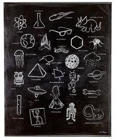 ABC & Alphabet art prints: ABC Ologies Wall Decalby Aaron Christensen
