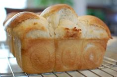 mmm Chinese Coconut Milk Bread! I absolutely love coconut!