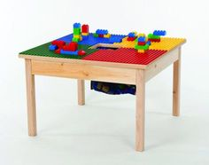 Handmade Christmas Gift Ideas For Everyone On Your List | Wooden LEGO Play Table
