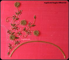 Hand ,Machine and Computer Embroidery in Bangalore by Angalakruthi