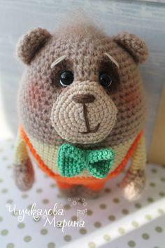 Toy crochet pattern Bear bunny and fox PDF by MyCroWonders on Etsy