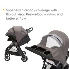 Amazon.com : Safety 1st Smooth Ride Travel System with onBoard 35 Infant Car Seat, Lake Blue : Baby