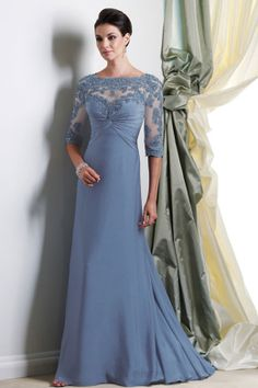 Mother of the Bride Dresses With silver accessories to match the silver and frosty blue christmas wedding theme http://weddite.com/