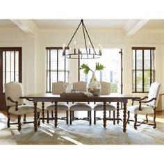 Paula Deen Home Magnolia Extendable Dining Table