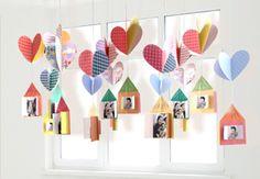 환경구성>자료실>누리놀이 Diy And Crafts, Crafts For Kids, Arts And Crafts, Origami Heart, Ecole Art, Origami Paper, Paper Decorations, Classroom Decor, Preschool Activities
